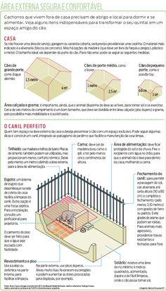 Cachorros que vivem na área externa da casa precisam de um cantinho bem planejado e higienizado para estarem protegidos de doenças