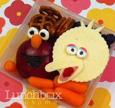 Big Bird snack meal for kids