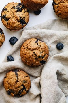 The most delicious oatmeal blueberry muffins! Made with fresh blueberries, hearty oat flour, and are perfect for a grab-n-go breakfast or wholesome dessert. You'll love these healthy muffins for any occasion! | asimplepalate.com #muffins #blueberry #oatmeal #breakfast Blueberry Oatmeal Muffins, Blueberry Topping, Blue Berry Muffins, Oat Flour Recipes, Oats Recipes, Baking Recipes, Yummy Recipes, Dessert Recipes, Cut Out Cookie Recipe