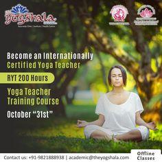 Ayurvedic Clinic, Yoga Certification, Ryt 200, Yoga Teacher Training Course, Ayurveda, Career, October, Join, Books