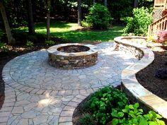 whimsical hardscape paver designs | Charlotte Pavers & Stone | Stone Masonry & Hardscape Since 1994