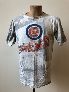 d20277a6980 Vintage Chicago Cubs   Chicago Cubs Shirt   90s Chicago Cubs   MLB Shirt