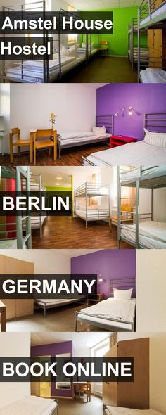 Amstel House Hostel in Berlin, Germany. For more information, photos, reviews and best prices please follow the link. #Germany #Berlin #travel #vacation #hostel
