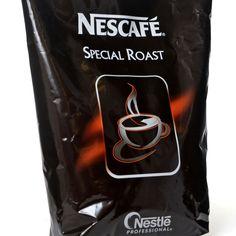 Nestle Nescafe Special Roast ist sprühgetrockneter Instant-Kaffee  Nescafé Roast herzhaft, kräftig und voll im Geschmack ideale zur Verwendung in einem Vending Kaffeeautomaten.