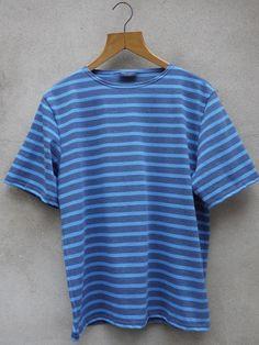 Nautical Tee (Blue) Nautical Tees, Menswear, Mens Tops, Blue, Clothes, Products, Fashion, Outfits, Moda
