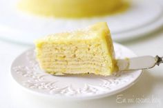 Orange Crepe Cake - layers of cakebatter and orange curd baked Crepe Recipes, Dessert Recipes, Desserts, Oui Merci, Chilean Recipes, Chilean Food, Savory Crepes, I Chef, Crepe Cake