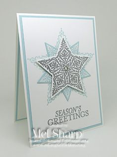 christmas star stampin up pinterest - Google Search