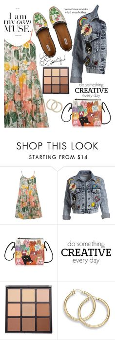 """216"" by erohina-d ❤ liked on Polyvore featuring Dorothy Perkins, Alice + Olivia, WALL and Morphe"