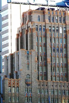 Art Deco style Philadelphia architecture. Now known as One East Penn Square Building including the Marriott Residence Inn. Architects: Ritter and Shay. built in 1929, interwar period.