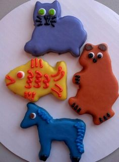 Brown Bear Brown Bear What Do You See Cookies