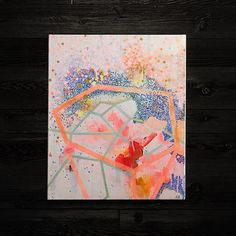 Project Nursery - Abstract Art for the Nursery from The Land of Nod