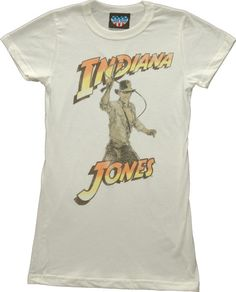 Junk Food Ladies Indiana Jones T-Shirt from Junk Food