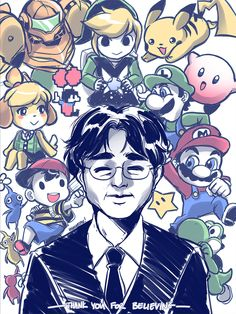Thank you for creating a legacy that will continue in your stead. #SatoruIwata #Nintendo