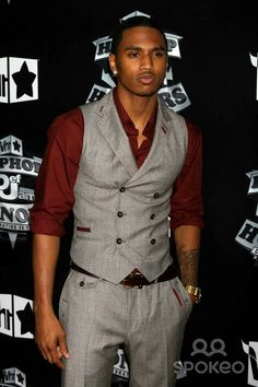 Trey songz when it comes to suit attire he has no competition