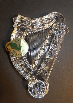 Waterford Crystal Irish Harp Christmas Ornament Brand New 2012 Priced at $52.00  OBO*
