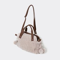 We're ready for Fall & #backtoschool with this soft Knit Shoulder Bag