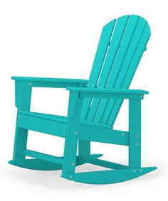 Look what I found on #zulily! Aruba Rocker by Poly-Wood #zulilyfinds