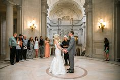 San Francisco City Hall Elopement with immediate family.