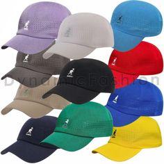 Details about 100% Authentic Mens KANGOL Tropic Ventair Spacecap Hat 1456BC  Sizes S M L XL XXL 9d2a2f3eb09d