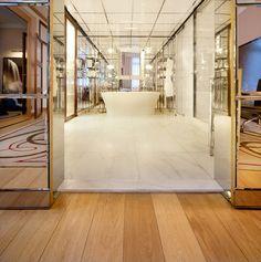 Hakwood Flooring - Duoplank European Oak - Royal Monceau - Paris, France - Philippe Starck