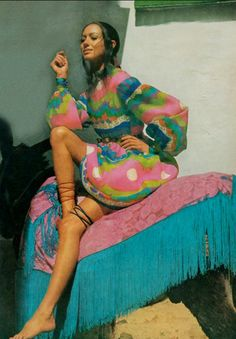 Marisa Berenson. Photo by Henry Clarke for Vogue, 1969.