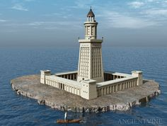 lighthouse pictures | The 7 Wonders of the Ancient World lighthouse-of-alexandria – Beat ...