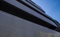 Glass Rom Impex SRL placare cu tabla perforata tip mesh