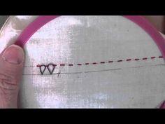 Eskimo Laced Edging Stitch - YouTube
