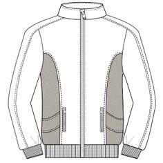 Modelos de ropa patrones para todas las tendencias Campera 604 HOMBRES Camperas