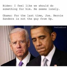 page for Barack Obama and Joe Biden Memes. If you repost, mention the original content maker in caption (it's the right thing to do) Joe And Obama, Obama And Biden, Joe Biden, Stupid Funny, Hilarious, Funny Stuff, Funny Things, Funny Vid, Obama Funny