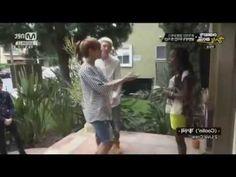 "BTS V (TAEHYUNG) SPEAKING & SINGING IN ENGLISH // ""my friend-frienda"" <3"