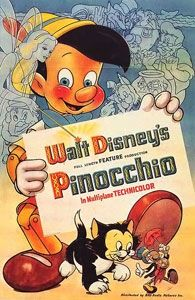 This is a poster for Pinocchio. The poster art copyright is believed to belong to Disney. Further details: Original theatrical release poster for Pinocchio Walt Disney Animation, Walt Disney Animated Movies, Animated Movie Posters, Disney Films, Disney Pixar, Pinocchio Disney, Animation Movies, Old Disney Movies, Disney Wiki