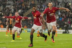 Rashford struck in stoppage time to hand United all three points after a…