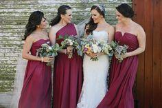 Свадьба в цвете марсала – хит 2015 года