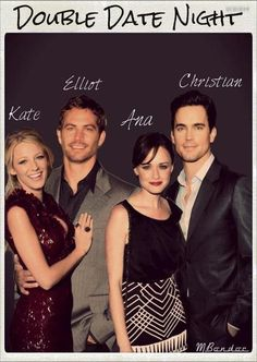 50 Shades of Grey, I could see this as the cast.