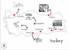 Recorrido por Turquía