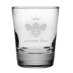 Queen Bee Double Old Fashioned Glass   Wayfair