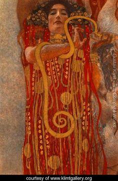 Medicine (Hygieia) - Gustav Klimt - www.klimtgallery.org