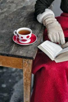 Hot Tea & a book
