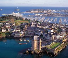 Even as a high school student I loved the seaside town of St. Malo