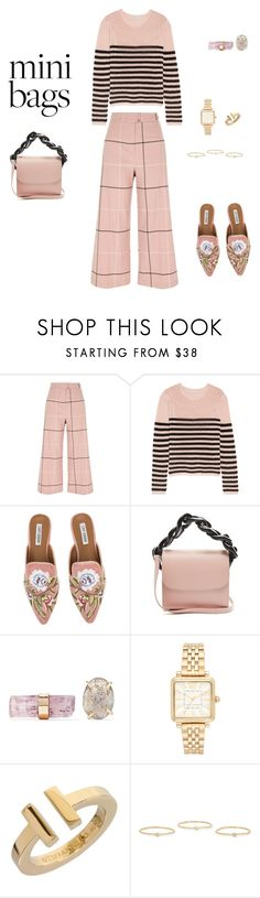 """""""So cute: Mini bags!"""" by sebolita ❤ liked on Polyvore featuring River Island, Emilio Pucci, Marques'Almeida, Melissa Joy Manning, Marc Jacobs, Tiffany & Co. and Jennifer Meyer Jewelry"""