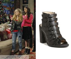 Girl Meets World: Season 1 Episode 16 Riley's Multibuckle Heels