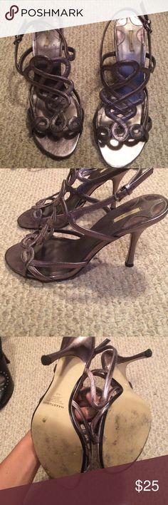 Brand new silver shoes Max silver brand new heels Maxstudio.com Shoes Heels