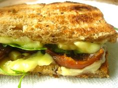 Stacey Snacks: What's for Lunch? Grilled Cheddar & Fig