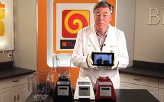"""The iPad Mini, Google Nexus 7 and Amazon Kindle Fire HD face off in a Blendtec """"Will it Blend?"""" battle."""