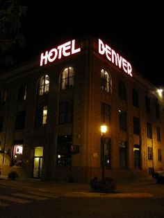 Hotel Denver, Glenwood Springs, CO - where Doc Holliday died.