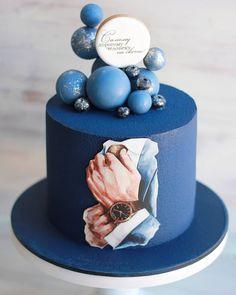 40th Birthday Cakes For Men, Cute Birthday Cakes, Beautiful Birthday Cakes, Beautiful Cakes, Amazing Cakes, Cake Design For Men, Boat Cake, New Cake, Cakes For Boys