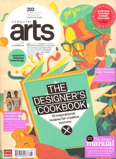 Computer Arts Magazine. The Designer's Cook Book. « Library User Group