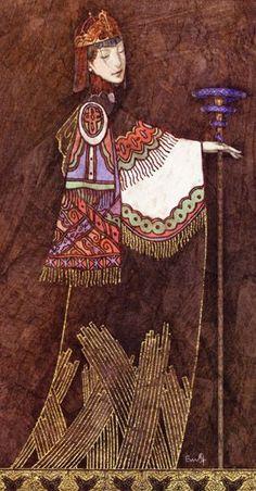 Queen of Wands - Lunatic Tarot