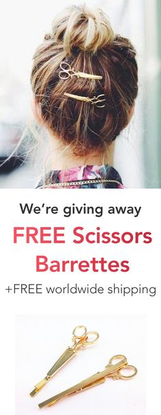 FREE Scissors Barret